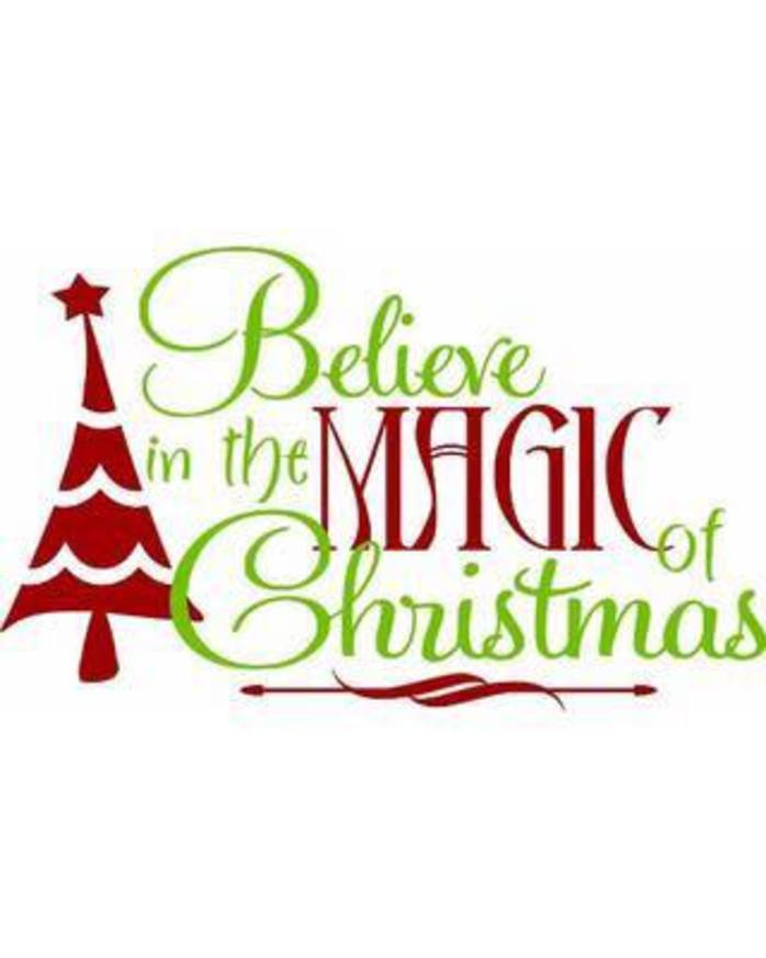 Believe In The Magic Of Christmas Fair
