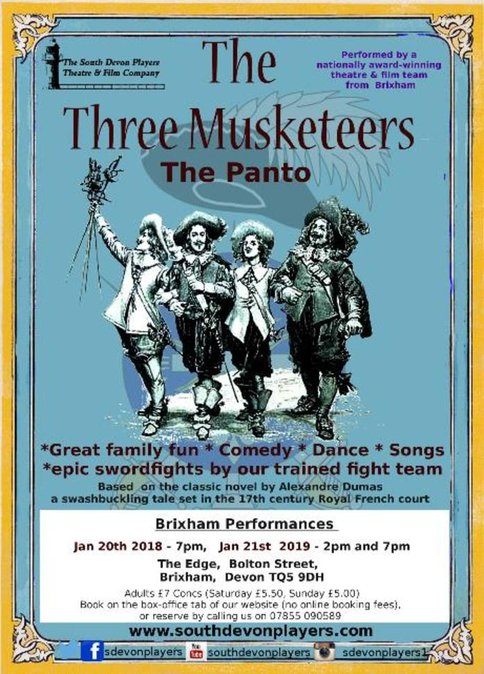 The Three Musketeers Pantomime